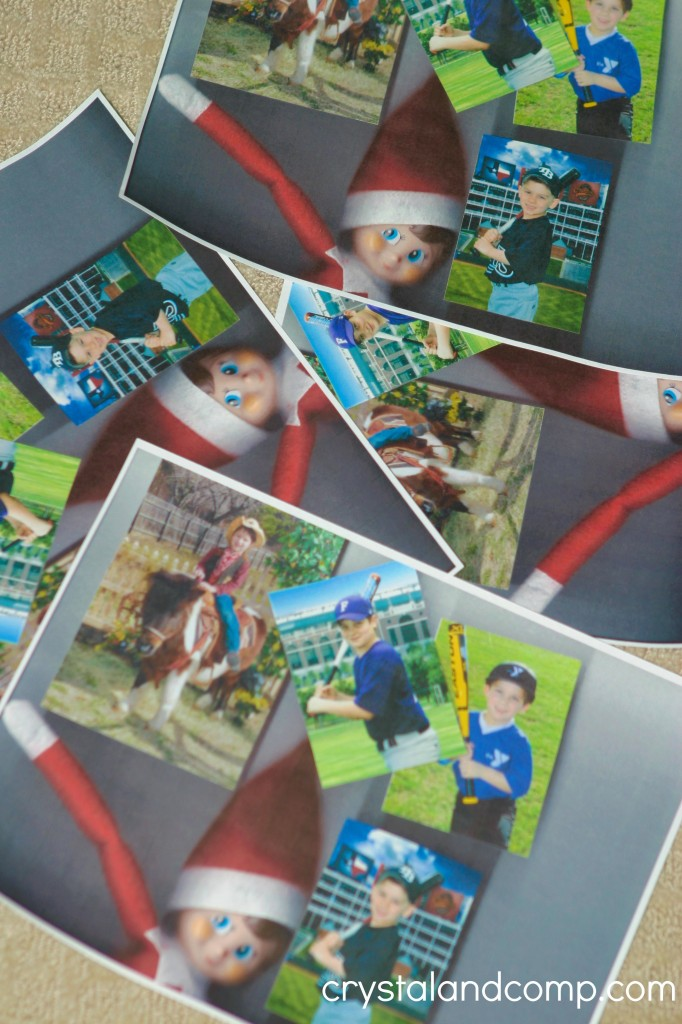 elf on the photo copies