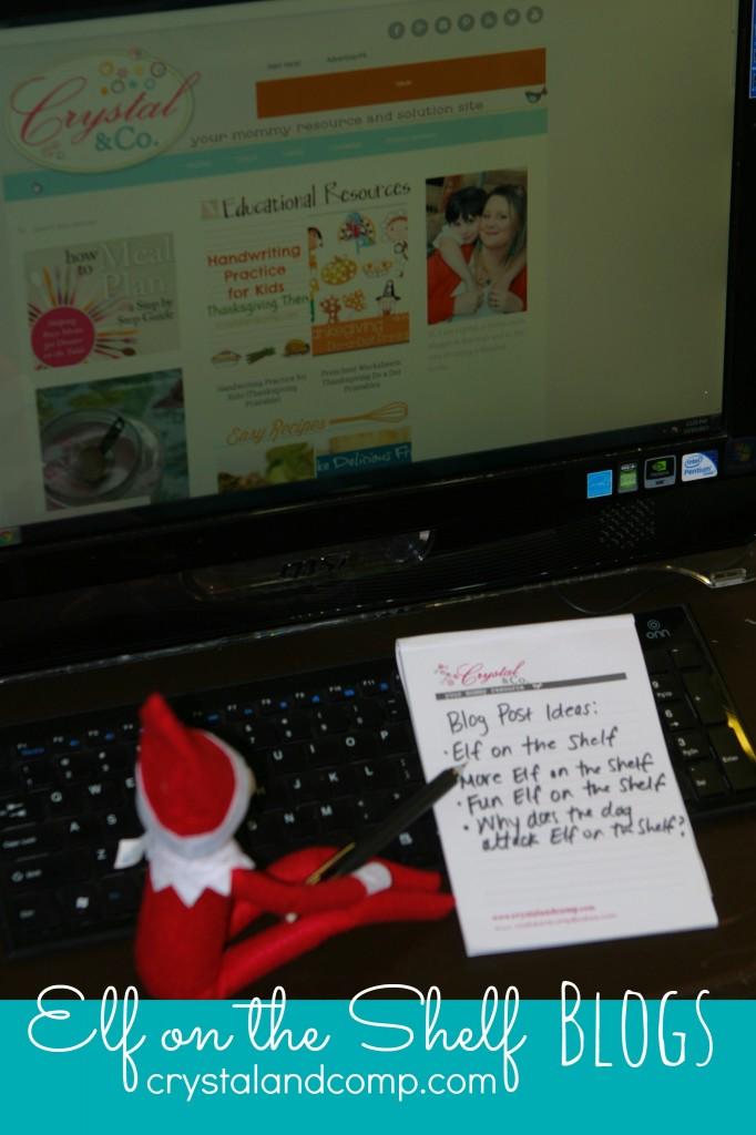 elf on the shelf ideas elf blogs