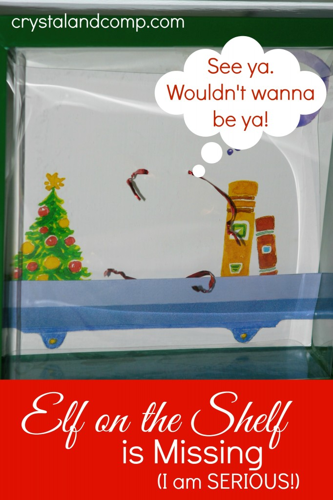 elf on the shelf ideas elf missing