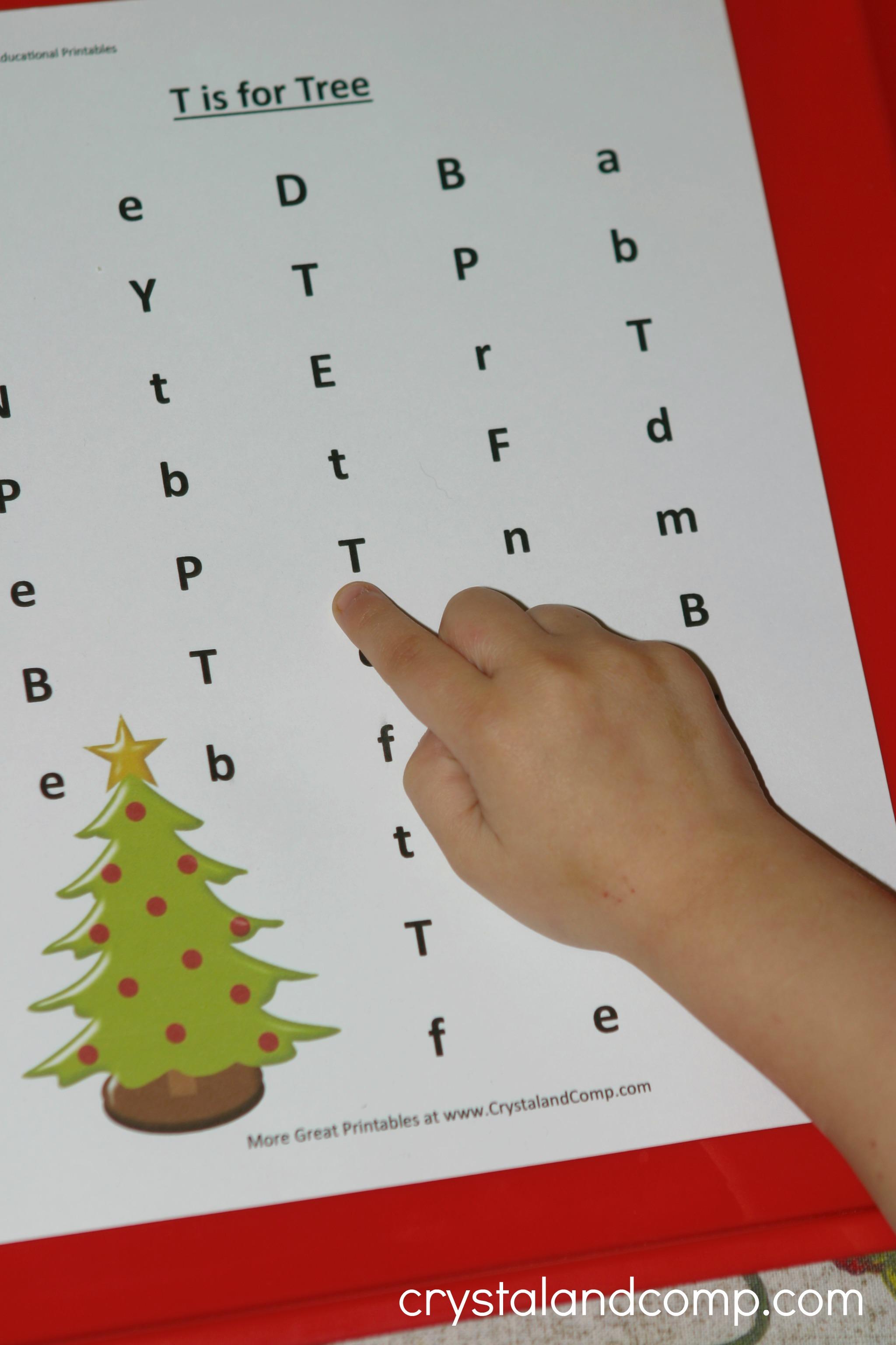 do a dot christmas printables