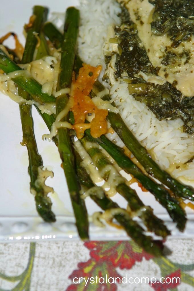 trader joes asparagus and trader joes parmesan cheese