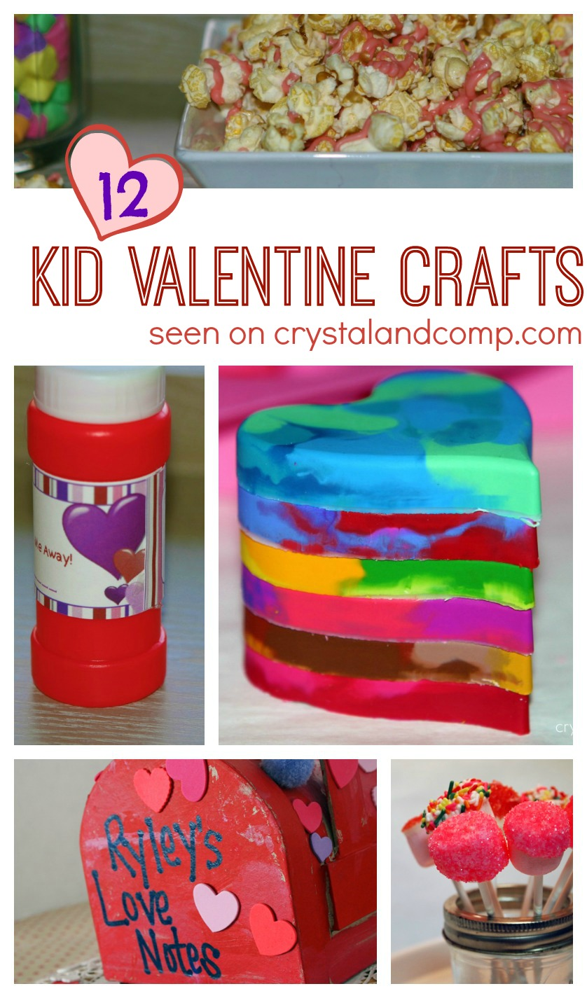 12 amazing kid valentine crafts