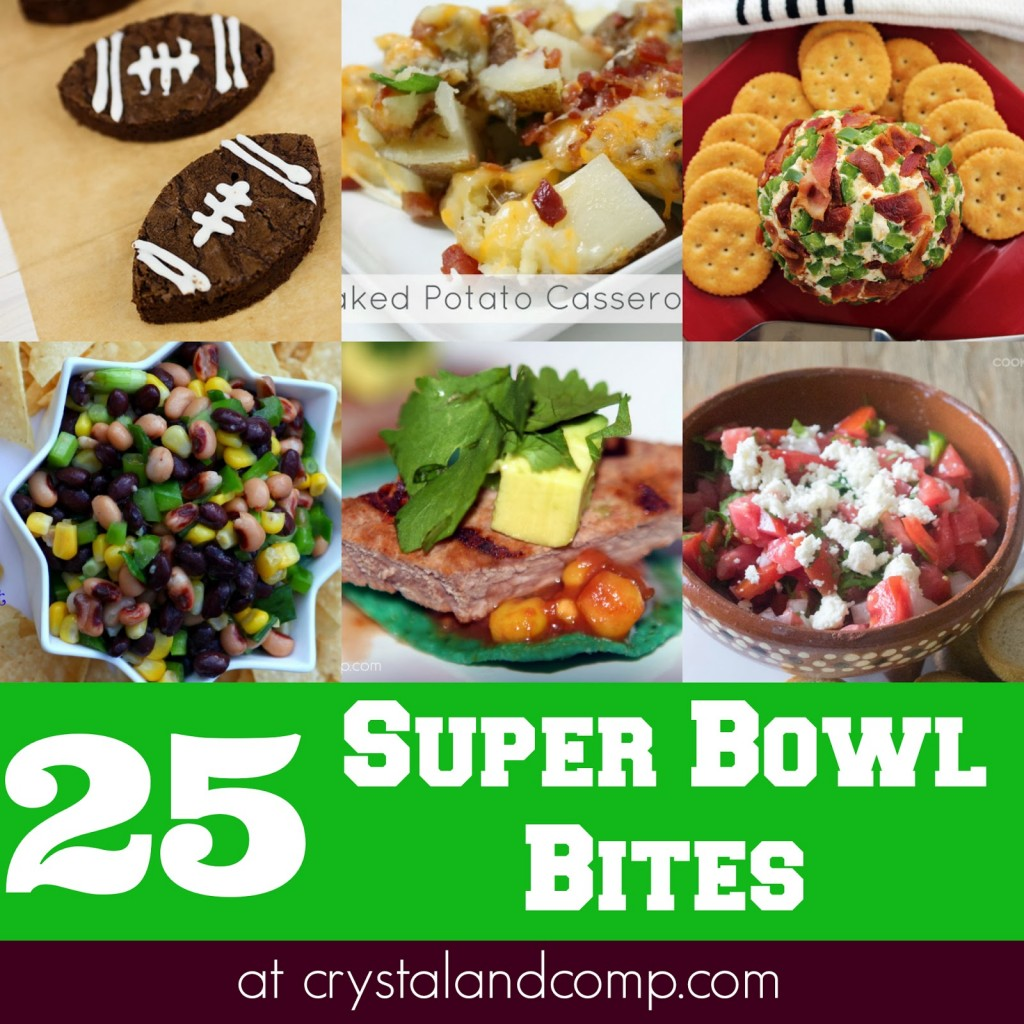 25 super bowl recipes for your party!