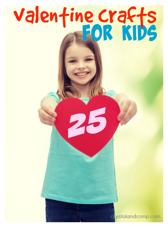 25AMAZING valentine crafts for kids