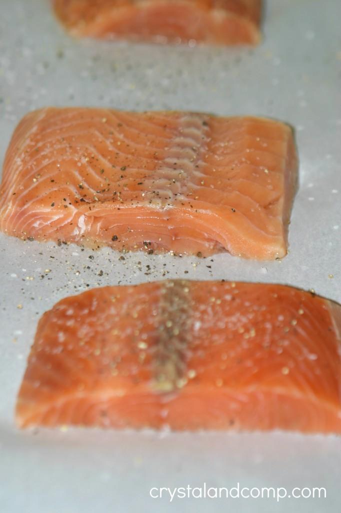 easy salmon recipe using pomegranate
