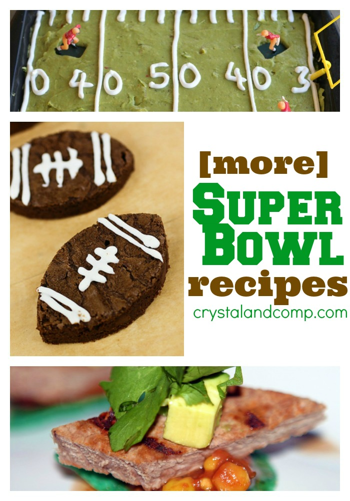 more super bowl food recipes
