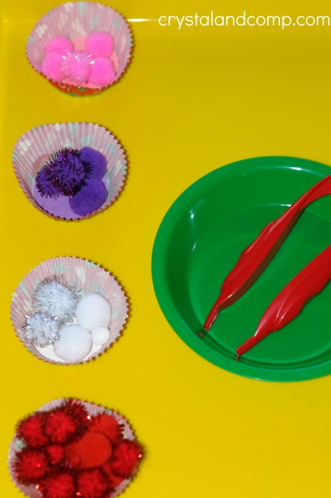 preschool sorting activities valentine inspired