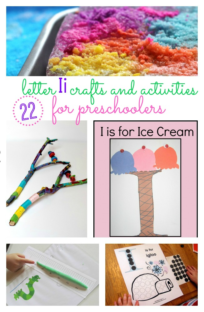 letter i crafts for preschoolers
