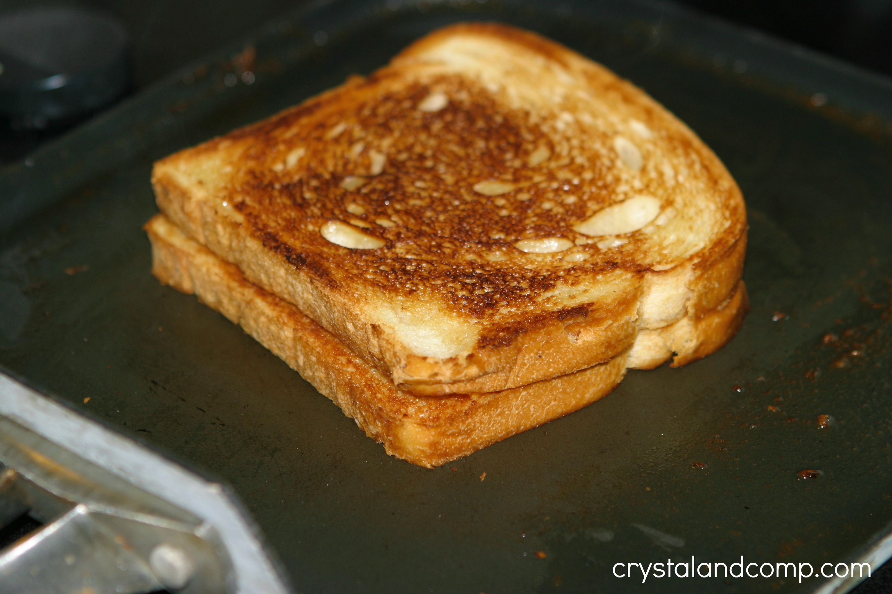 ... are equally toasted, you have the best grilled cheese sandwich ever