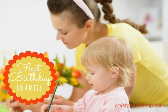first birthday budget planning