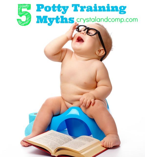 potty training myths