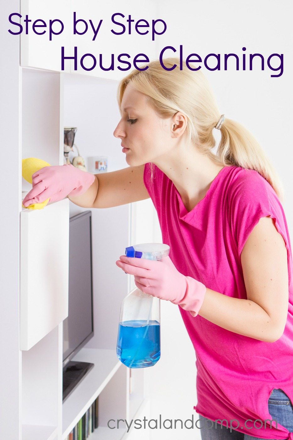 Cleaning house step by step cleaning house for Building a home step by step