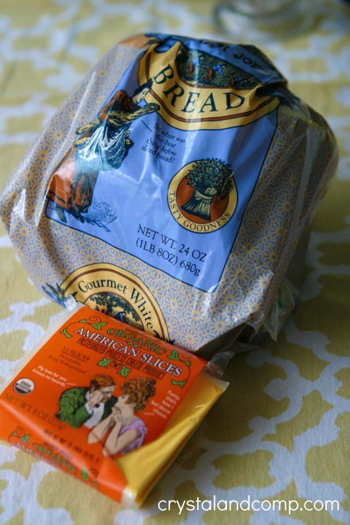 trader joes bread and trader joes american cheese slices