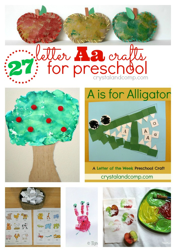 27 Letter A Crafts for Preschool