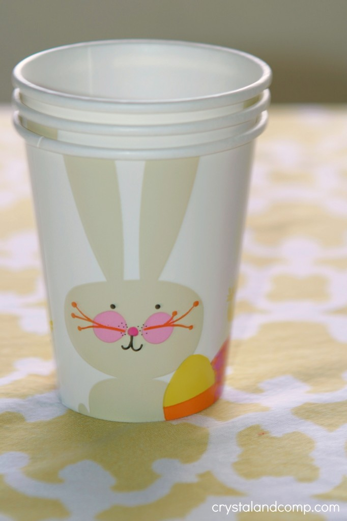 easter cups from the dollar spot at target