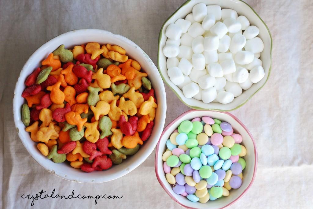 goldfish easter snacks