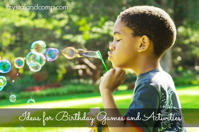 Activity Ideas for a First Birthday Party