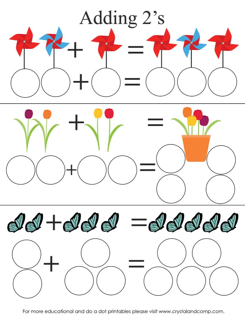12 Spring Do-A-Dot Printables | Preschool crafts, Spring coloring ... | 1068x822