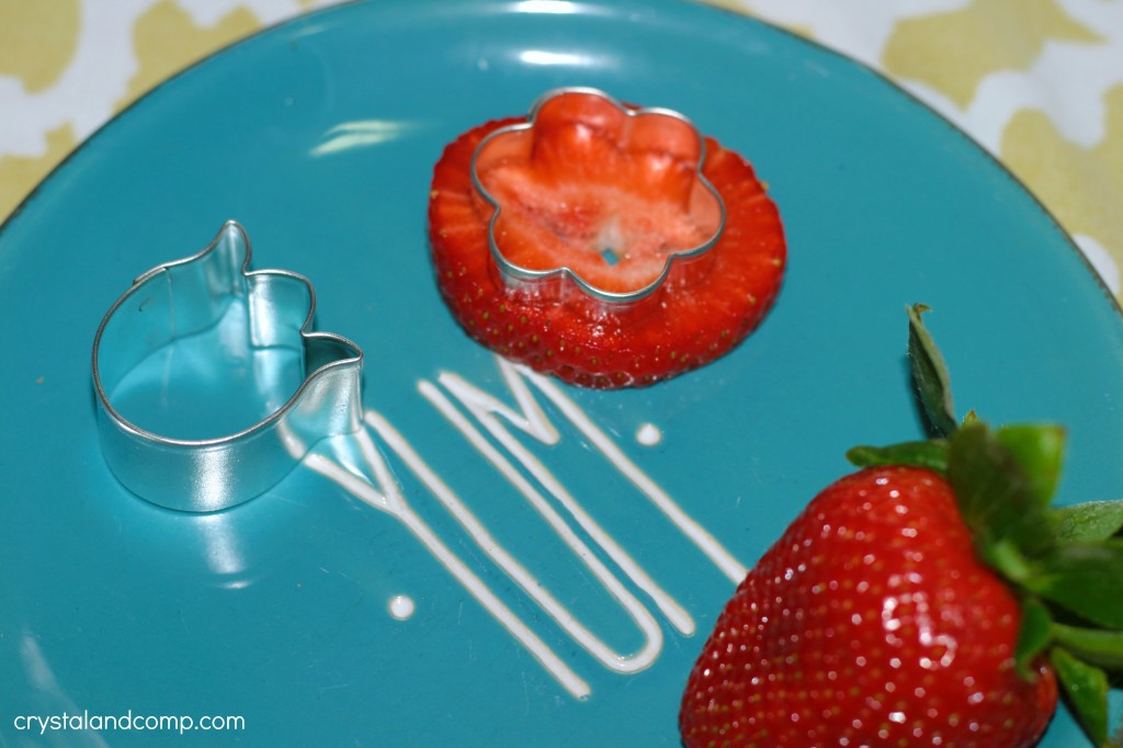 strawberry flowers for bento