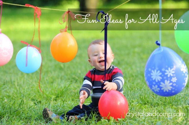 1st birthday activities ideas
