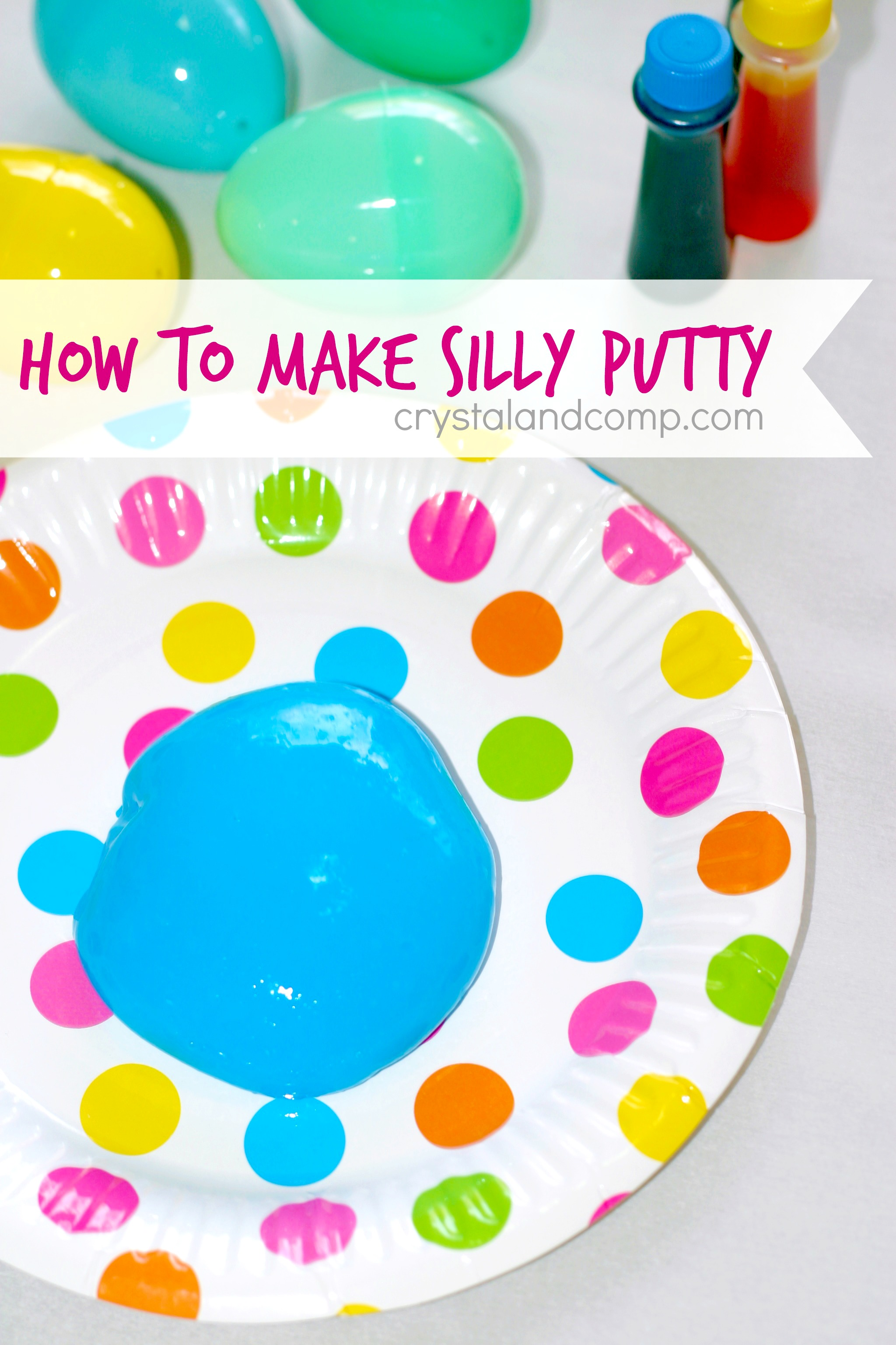 Silly Putty With Borax