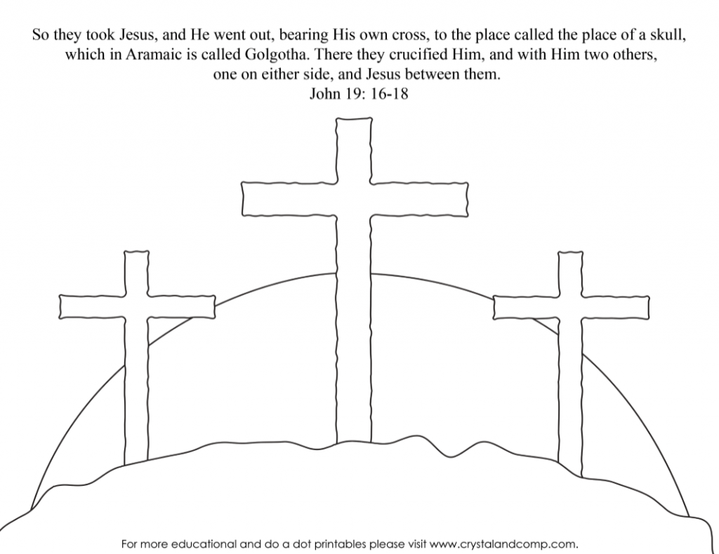 cross - Coloring Pages Jesus