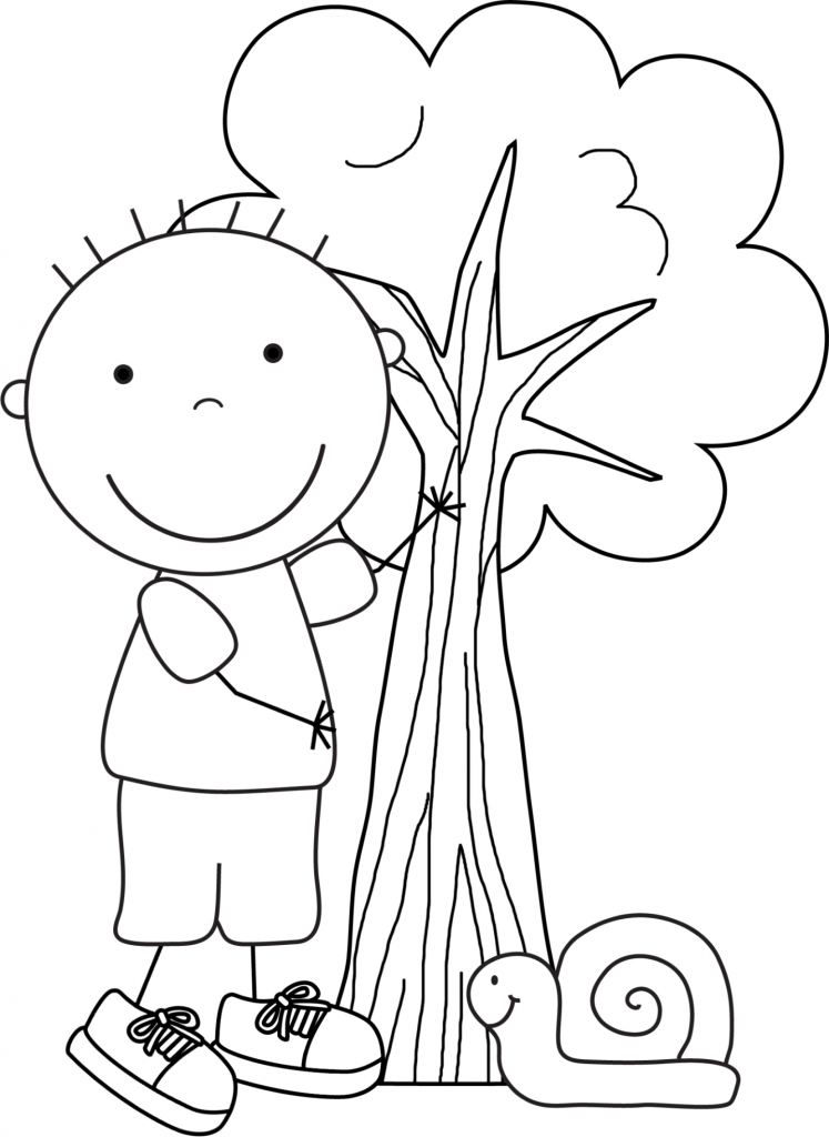 kid color pages earth day for boys - Kid Pictures To Color