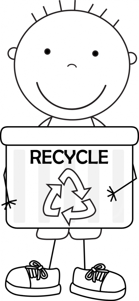 recycle coloring pages - photo#22