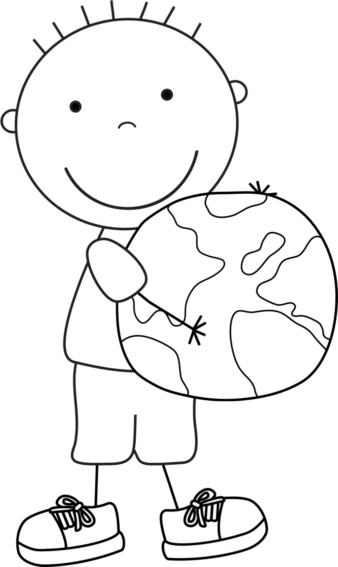 International Mother Earth Day || COLORING-PAGES-PRINTABLE.COM | 1827x1091