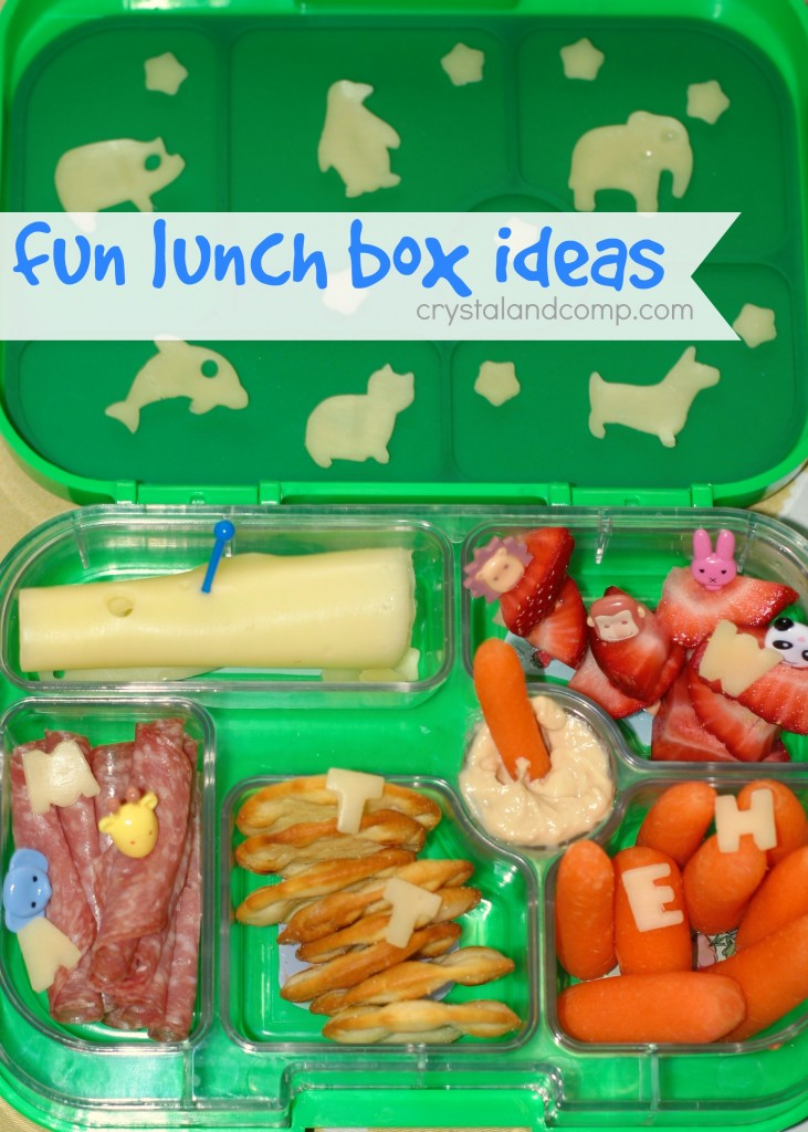 fun lunch box ideas for kids using cheese