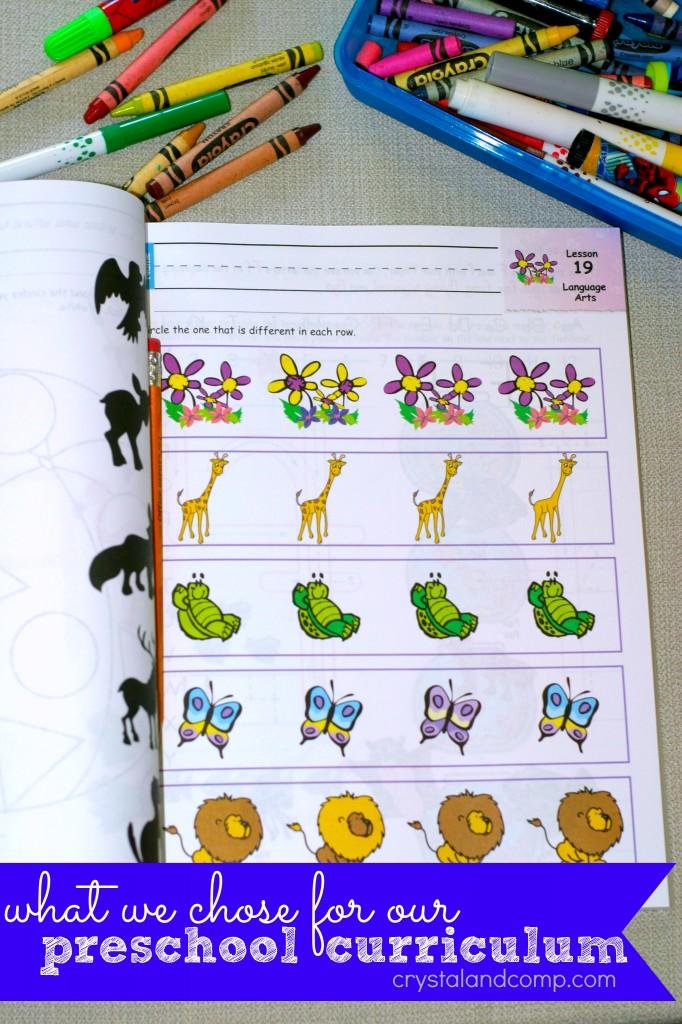horizons preschool curriculum