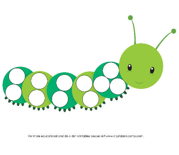 Preschool Do A Dot Printables. Bug Do A Dot. Worksheet. Name Dots Worksheet At Clickcart.co