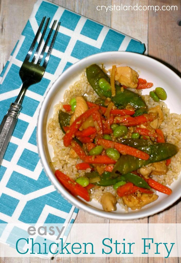easy recipes chicken stir fry