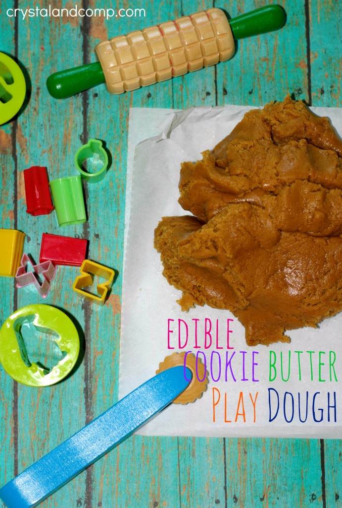 edible cookie butter play dough