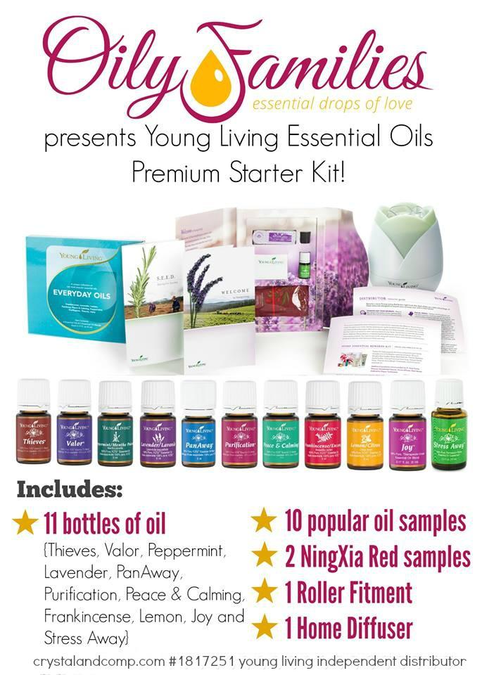 essential oils starter kit crystalandcomp