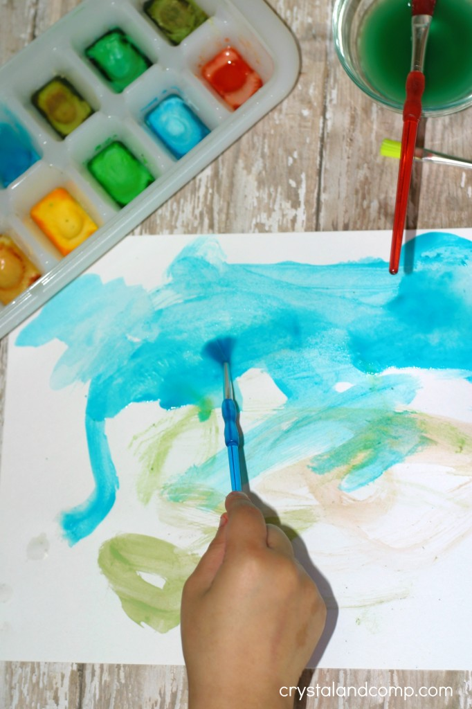 how to make homemade water colors