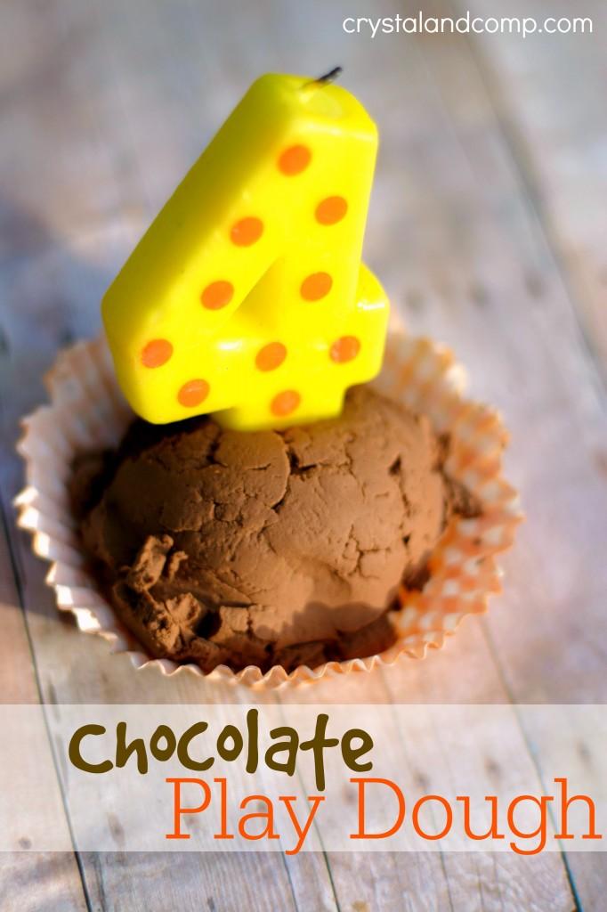 recipe for play dough chocolate