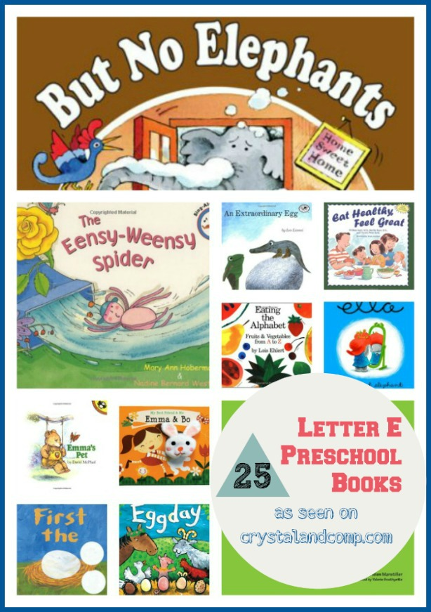 25 books children must read: letter e