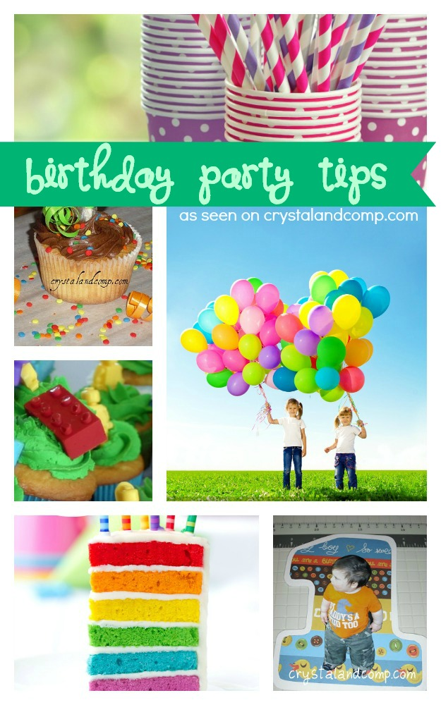 5 Birthday Party Tips