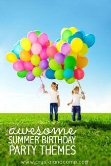 Awesome Summer Birthday Party Themes