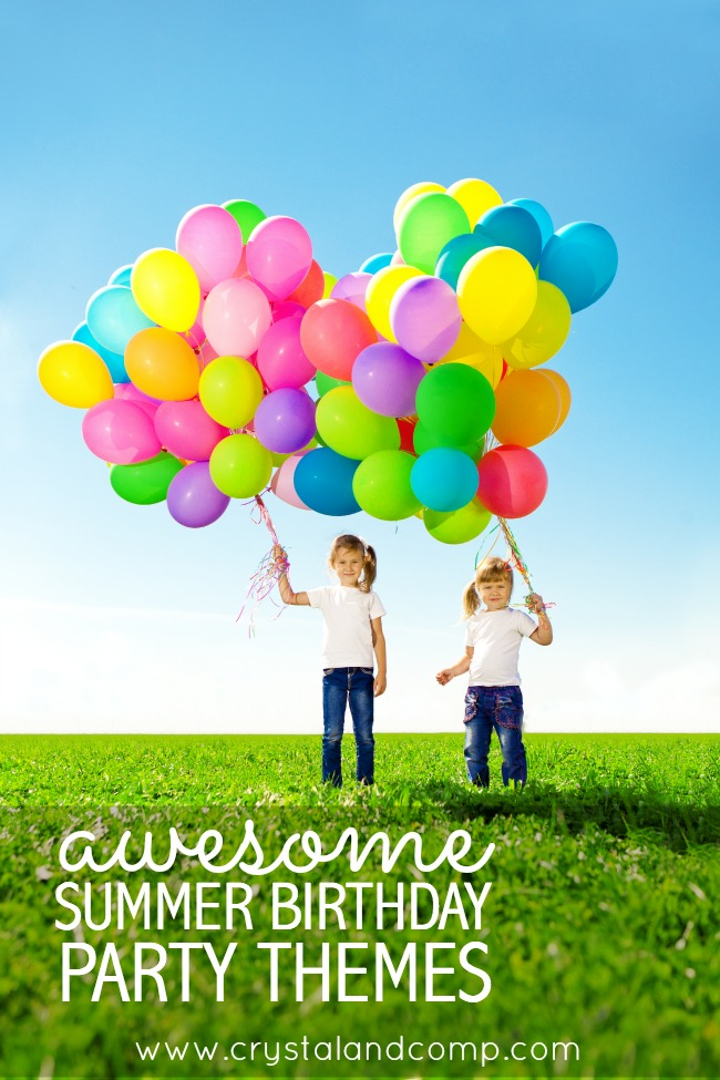 awesome summer birthday party ideas
