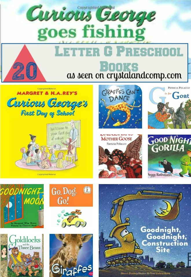 20 books children must read: letter G