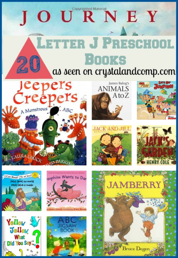 20 Books Children Must Read for the Letter J