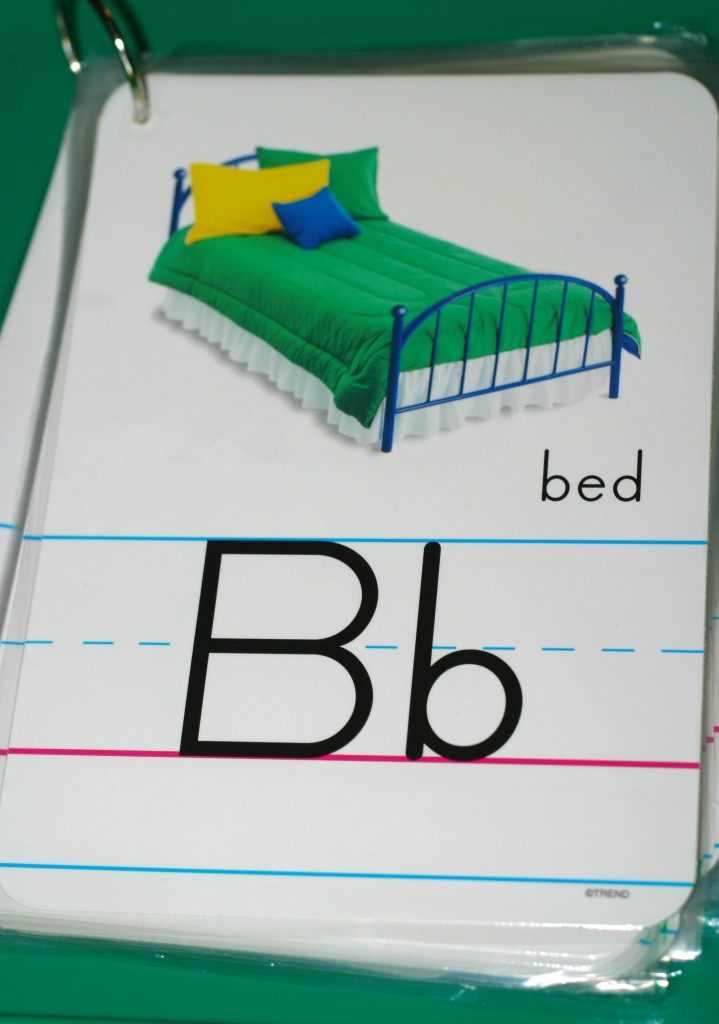 alphabet flipbook for preschoolers