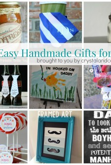 easy homemade gift ideas for dad