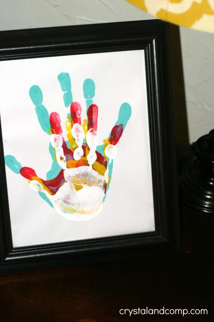 hand print gift