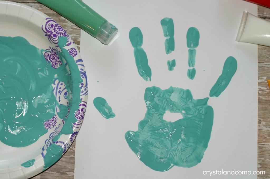 handprint craft for kids