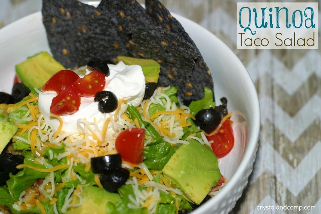 healthy quinoa recipes taco salad