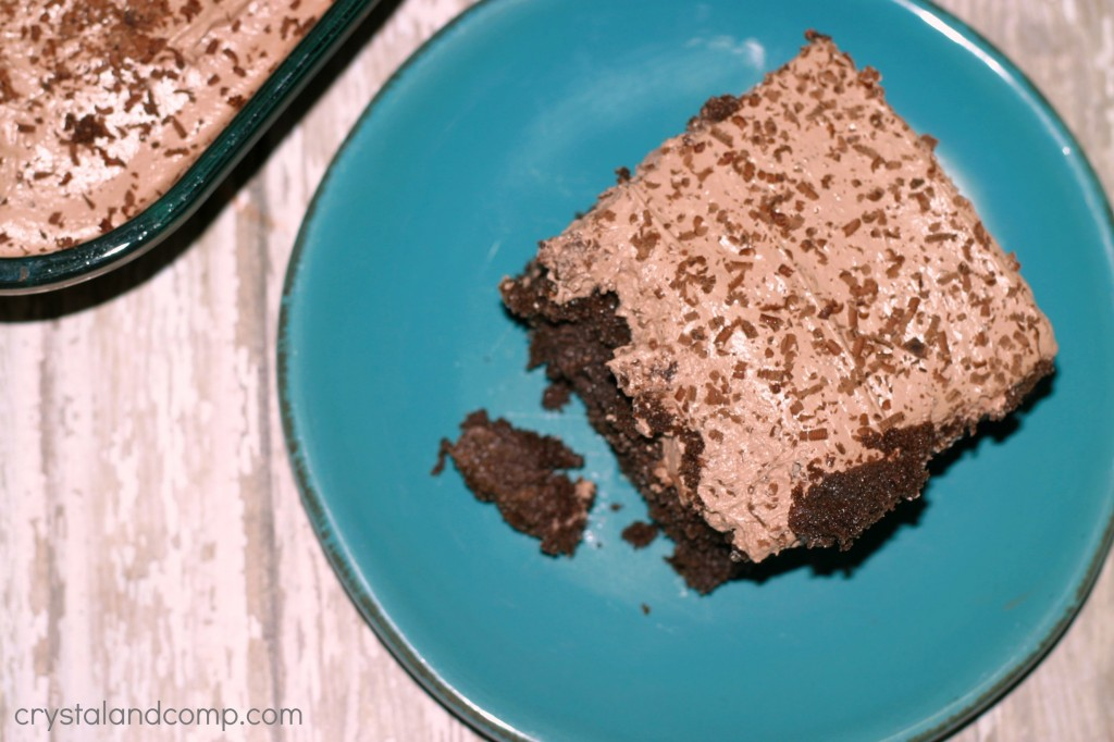 it is easy to make a chocolate refrigerator cake