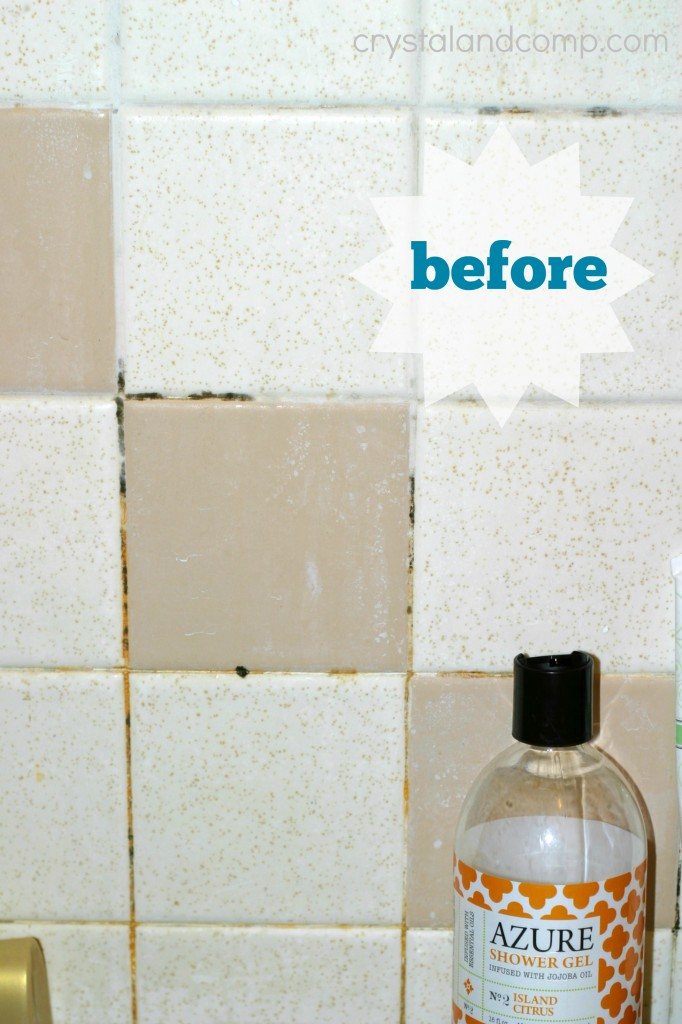 Store bought bathroom mold cleaner for Mold in a bathroom